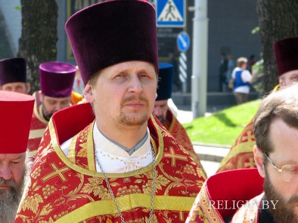 священник Евгений Громыко. Фото - relieia.by